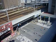 お盆の駅.JPG