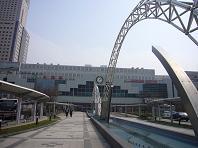 ぽかぽかの札幌駅.JPG