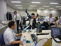 オフィスに侍が・・・.JPG