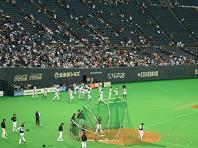オープン戦練習風景.JPG