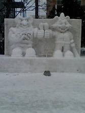 スカパー雪像ドーレ.JPG