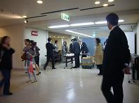 共済ホール混み始めた.JPG