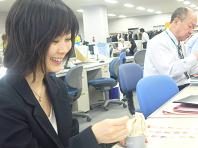 函館ジェラートと妖精K嬢.JPG