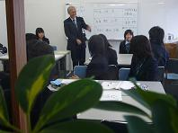 取材後の講義.JPG