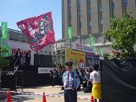 大丸前の侍.JPG