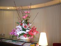 誕生祝のお花.JPG