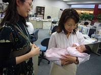 赤ちゃんとわたし.JPG