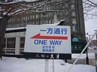 雪祭り一方通行.JPG