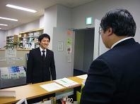 M先輩樽商受付.JPG