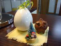 2008.12豚とクリスマス.JPG
