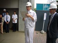 6.9避難訓練あいさつ.JPG