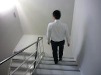6.9避難訓練階段.JPG